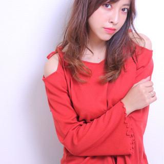 モテ髪 斜め前髪 透明感 秋 ヘアスタイルや髪型の写真・画像
