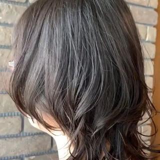 ショート コンサバ ウルフパーマ ショートヘア ヘアスタイルや髪型の写真・画像