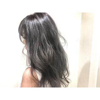 セミロング 渋谷系 グラデーションカラー 大人かわいい ヘアスタイルや髪型の写真・画像