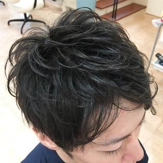 毛束感 メンズ ショート 束感 ヘアスタイルや髪型の写真・画像