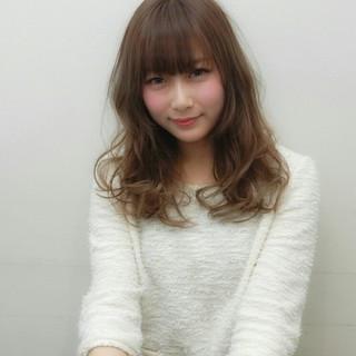 ナチュラル 渋谷系 大人かわいい フェミニン ヘアスタイルや髪型の写真・画像