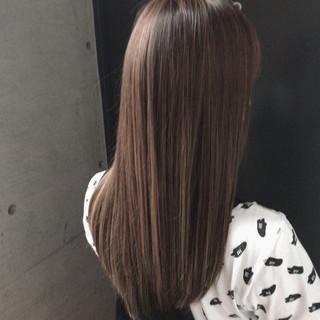 女子力 オフィス 透明感 ナチュラル ヘアスタイルや髪型の写真・画像