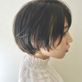 黒髪 ナチュラル こなれ感 小顔 ヘアスタイルや髪型の写真・画像 ヘアスタイルや髪型の写真・画像