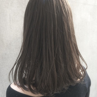 ハイライト 大人かわいい イルミナカラー ロブ ヘアスタイルや髪型の写真・画像