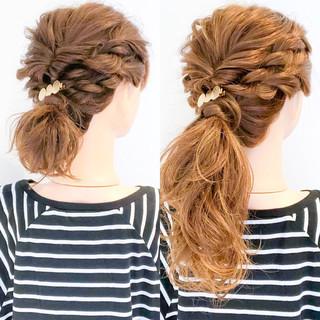 簡単ヘアアレンジ 上品 ヘアアレンジ ショート ヘアスタイルや髪型の写真・画像