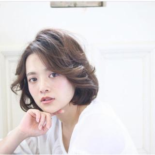 外国人風 上品 エレガント イルミナカラー ヘアスタイルや髪型の写真・画像