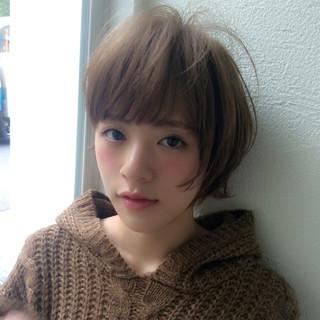 外国人風 大人女子 小顔 ストリート ヘアスタイルや髪型の写真・画像