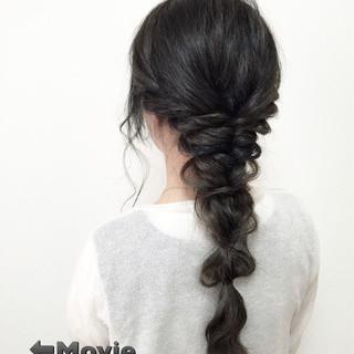 簡単ヘアアレンジ ショート ヘアアレンジ 夏 ヘアスタイルや髪型の写真・画像 ヘアスタイルや髪型の写真・画像