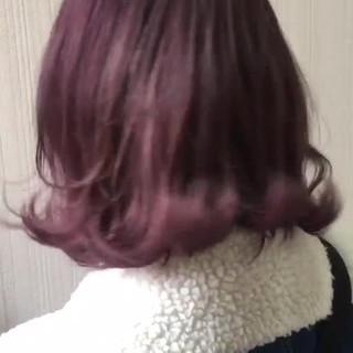 ラベンダーピンク アウトドア 外国人風 簡単ヘアアレンジ ヘアスタイルや髪型の写真・画像 ヘアスタイルや髪型の写真・画像