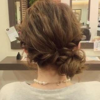 ショート フェミニン ロング ヘアアレンジ ヘアスタイルや髪型の写真・画像