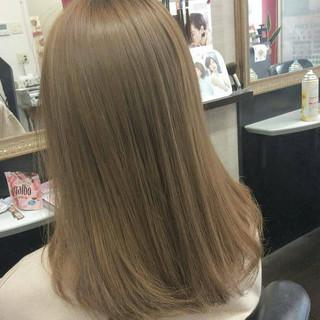 外国人風カラー ダブルカラー セミロング イルミナカラー ヘアスタイルや髪型の写真・画像 ヘアスタイルや髪型の写真・画像