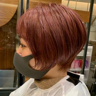 PEEK-A-BOO ショートヘア 似合わせカット ショートボブ ヘアスタイルや髪型の写真・画像