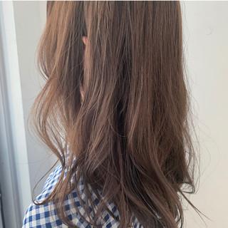 セミロング 大人可愛い 透け感アッシュ 圧倒的透明感 ヘアスタイルや髪型の写真・画像