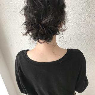 ナチュラル ヘアアレンジ ミディアム 大人かわいい ヘアスタイルや髪型の写真・画像 ヘアスタイルや髪型の写真・画像
