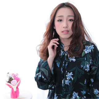 かっこいい ロング かわいい 大人女子 ヘアスタイルや髪型の写真・画像