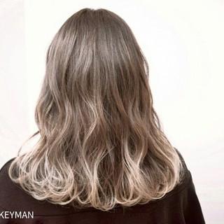 冬 ハイライト 秋 ストリート ヘアスタイルや髪型の写真・画像