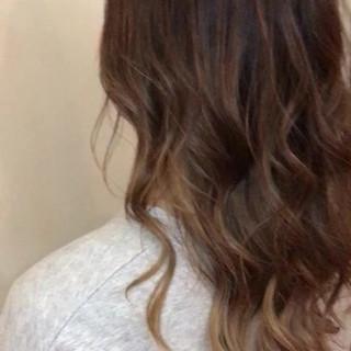 ウェーブ カール ロング 巻き髪 ヘアスタイルや髪型の写真・画像