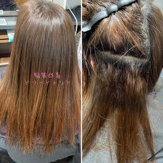 髪質改善カラー ロング 髪質改善トリートメント 髪質改善 ヘアスタイルや髪型の写真・画像