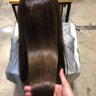 黒髪 サイエンスアクア オフィス デート ヘアスタイルや髪型の写真・画像