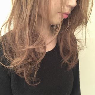 ウルフカット エレガント 小顔 アッシュ ヘアスタイルや髪型の写真・画像