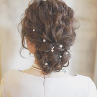 アッシュ ブラウン ハイライト 簡単ヘアアレンジ ヘアスタイルや髪型の写真・画像 ヘアスタイルや髪型の写真・画像