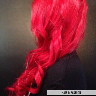 カラーバター カラートリートメント モード 外国人風 ヘアスタイルや髪型の写真・画像