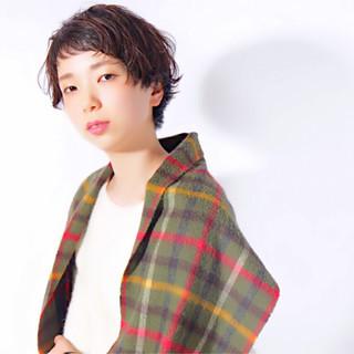 くせ毛風 夏 春 ヘアアレンジ ヘアスタイルや髪型の写真・画像