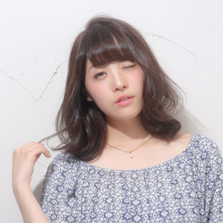 艶髪 ナチュラル 色気 パーマ ヘアスタイルや髪型の写真・画像