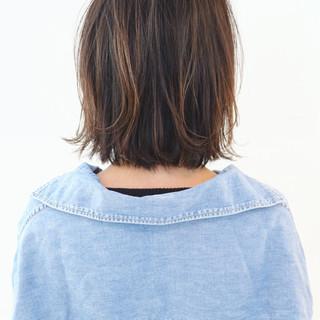 アウトドア レイヤーカット グラデーションカラー ボブ ヘアスタイルや髪型の写真・画像 ヘアスタイルや髪型の写真・画像