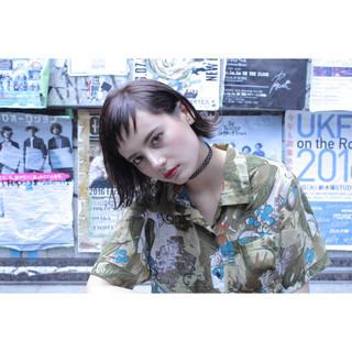 くせ毛風 大人かわいい 外国人風 ストリート ヘアスタイルや髪型の写真・画像 ヘアスタイルや髪型の写真・画像