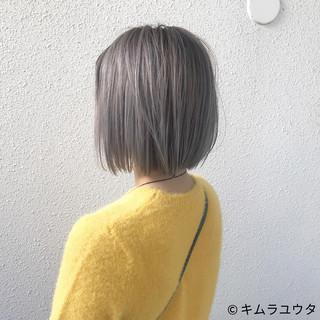 ホワイト ガーリー ハイトーン 外国人風 ヘアスタイルや髪型の写真・画像