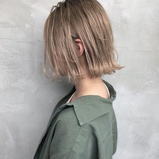 3Dハイライト ナチュラル グレージュ ヘアアレンジ ヘアスタイルや髪型の写真・画像 ヘアスタイルや髪型の写真・画像
