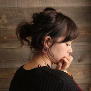 ヘアアレンジ 外国人風 色気 大人女子 ヘアスタイルや髪型の写真・画像
