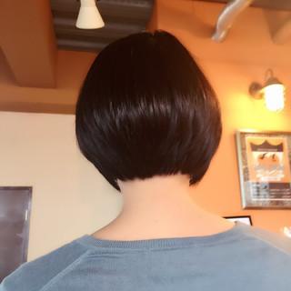 ストリート 黒髪 ボブ かわいい ヘアスタイルや髪型の写真・画像