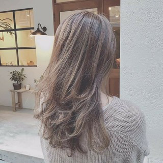 モテ髪 エレガント グラデーションカラー デート ヘアスタイルや髪型の写真・画像