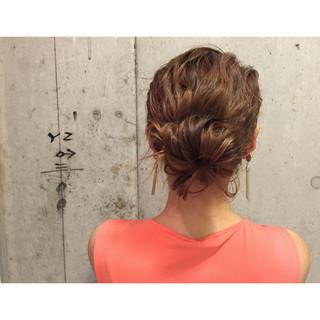 ショート 外国人風 ヘアアレンジ ナチュラル ヘアスタイルや髪型の写真・画像