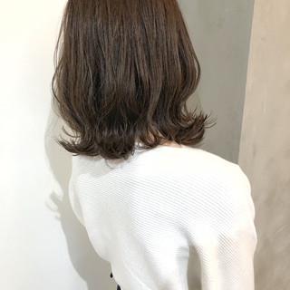 バレイヤージュ 大人かわいい 外国人風カラー ナチュラル ヘアスタイルや髪型の写真・画像