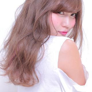アンニュイほつれヘア デート ロング ゆるナチュラル ヘアスタイルや髪型の写真・画像