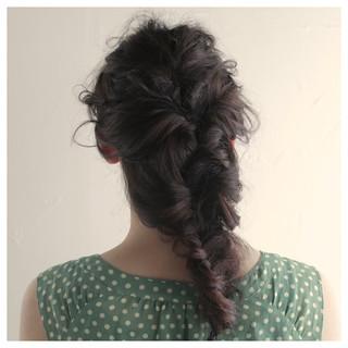 モテ髪 フィッシュボーン 結婚式 愛され ヘアスタイルや髪型の写真・画像