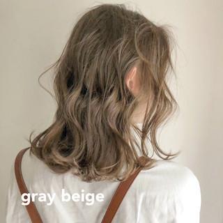 アンニュイほつれヘア 大人かわいい ミディアム ガーリー ヘアスタイルや髪型の写真・画像 ヘアスタイルや髪型の写真・画像
