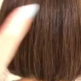 グラデーションカラー デート ボブ ゆるふわ ヘアスタイルや髪型の写真・画像 ヘアスタイルや髪型の写真・画像