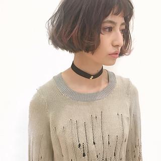 外国人風 大人女子 ストリート 前髪あり ヘアスタイルや髪型の写真・画像