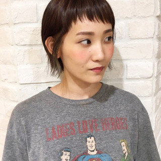 岡山 桃子さんのヘアスナップ