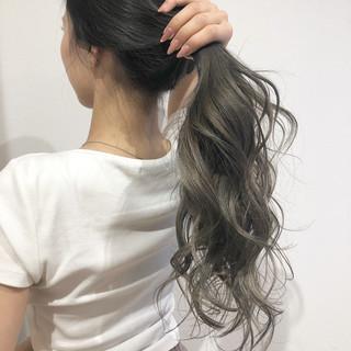 グラデーションカラー ミルクティーベージュ 外国人風カラー ナチュラル ヘアスタイルや髪型の写真・画像 ヘアスタイルや髪型の写真・画像