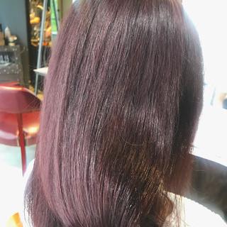 イルミナカラー 大人可愛い ピンクブラウン oggiotto ヘアスタイルや髪型の写真・画像
