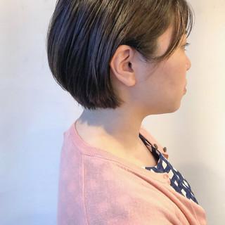 大人女子 ナチュラル モテ髪 大人ショート ヘアスタイルや髪型の写真・画像