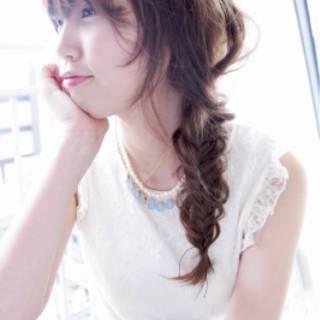 ヘアアレンジ 愛され モテ髪 ナチュラル ヘアスタイルや髪型の写真・画像