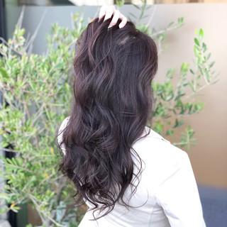 透明感 エフォートレス ロング 上品 ヘアスタイルや髪型の写真・画像