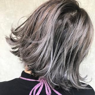 大人女子 小顔 ニュアンス モード ヘアスタイルや髪型の写真・画像