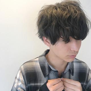 ストリート ショート マッシュ モテ髪 ヘアスタイルや髪型の写真・画像